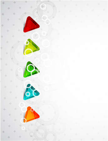 triangle background Stock Vector - 9978519