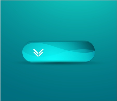 web box isolated over turquoise background Stock Vector - 9988214
