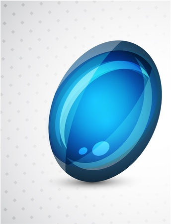 Abstract sphere button Stock Photo - 9988287