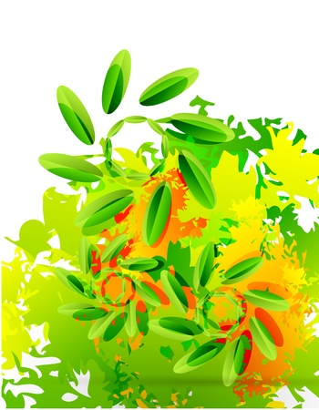 cruddy: Abstract nature design element