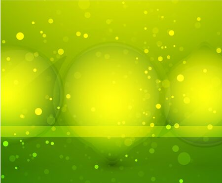 Green glass sphere vector background photo