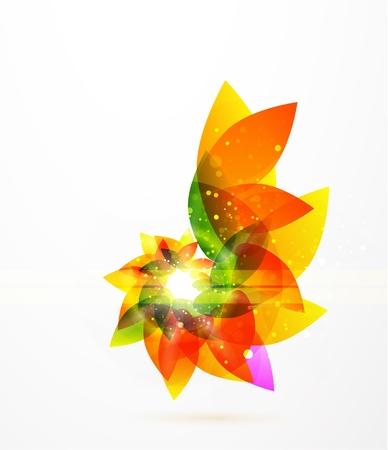 Vector sfondo astratto fiore
