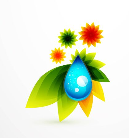 Abstract flower background Stock Photo - 10399574