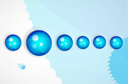 Vector sphere abstract background Stock Photo - 10399562