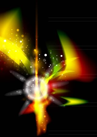 Glowing shiny abstract background photo