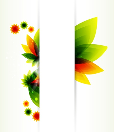 creative designs: Abstract flower background