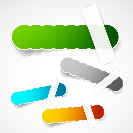 Vector color labels