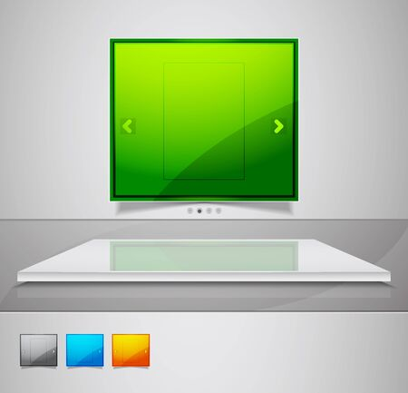 Vector ad stand Stock Photo - 10455471