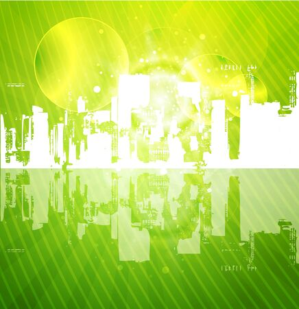 City urban vector Stock Photo - 10455551