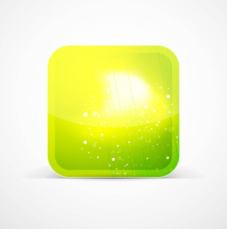 Shiny phone icons Stock Photo - 10455462