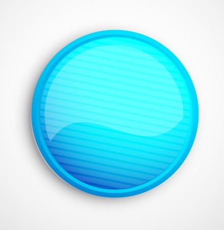 red sphere: Astratto pulsante lucido blu vector