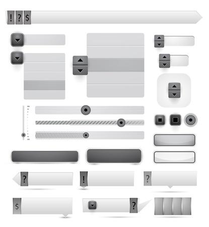 onglet: Vecteur des �l�ments de conception web