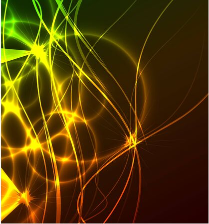 Vector abstract glowing background Stock Photo - 10475862