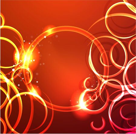 Vector abstract glowing swirl background Stock Vector - 10475888