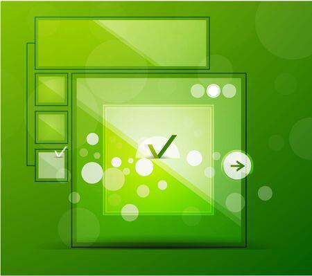Vector glossy web box Stock Vector - 10475621