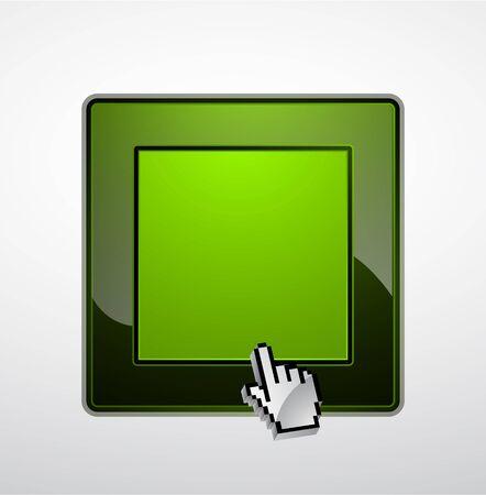 square detail: Conmutador de vector brillante