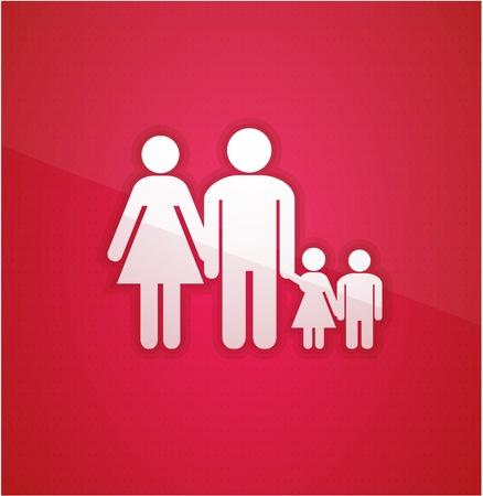 Family concept Stock Vector - 10491786