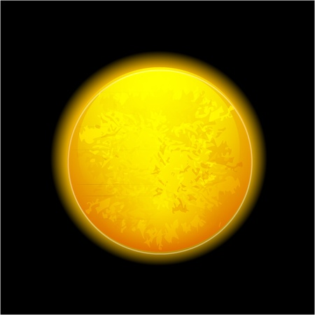 Realistic moon Stock Vector - 10491796