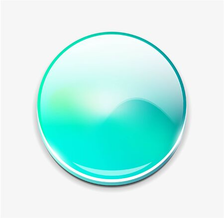 vector button: Blurred vector button