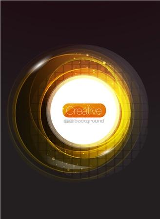 Shiny swirl background Stock Vector - 10550767