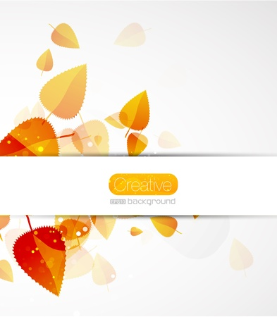 Fall abstract background Stock Photo - 10619168