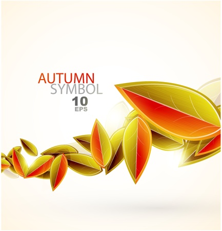 Fall abstract background Stock Photo - 10619170