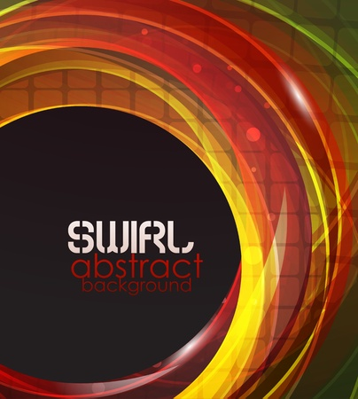 space: Swirl abstract background