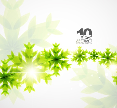 Green Christmas concept photo