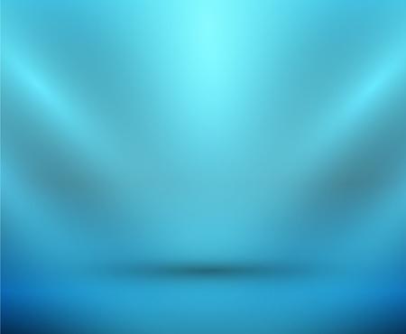 Vector blank light room blue Stock Vector - 10799575