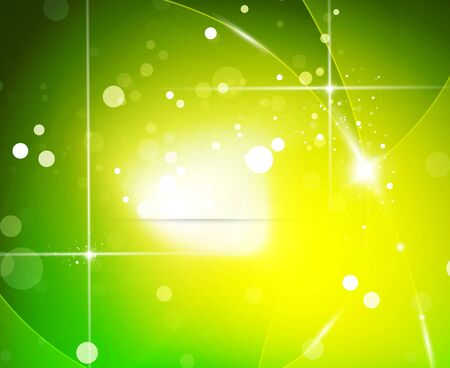 Vector green energy background Vector