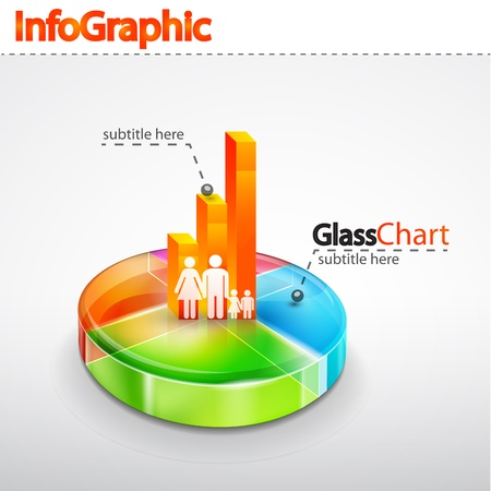 demographics: Infographics elements Stock Photo