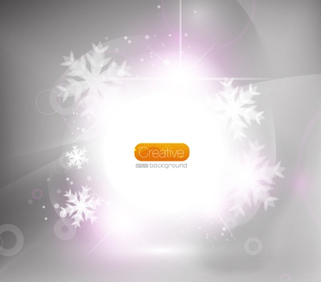 Christmas shiny abstract background Stock Vector - 11073876