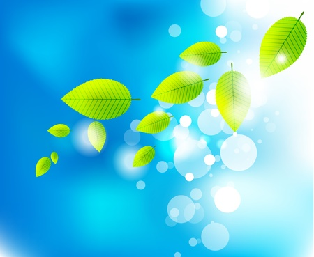 fresh green: Nature background Illustration
