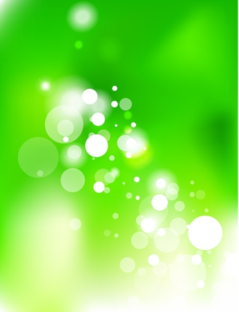 Green energy abstract background Vector