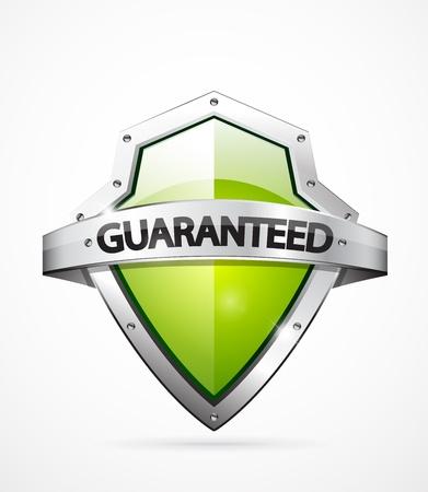 Vector guarantee shield Vector