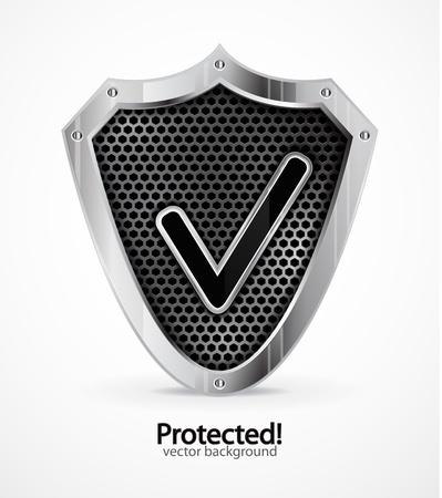 Protected icon Stock Vector - 11328500