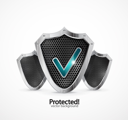 Protected icon Stock Vector - 11330056