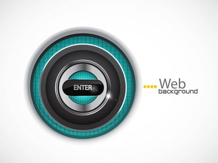 Entrance web page background Vector