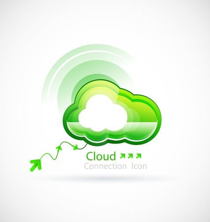 workflow: Technologie nuage Illustration