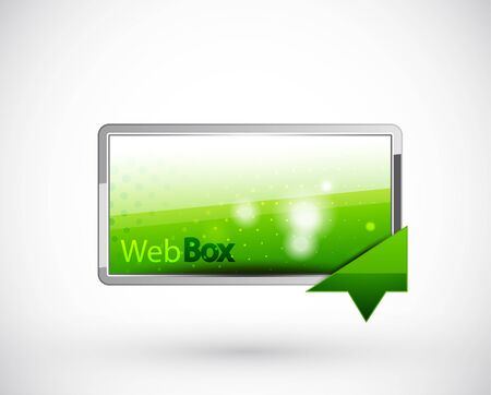 Web boxes Stock Vector - 11900062