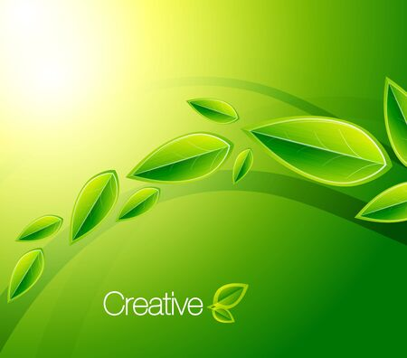 Nature creative background photo
