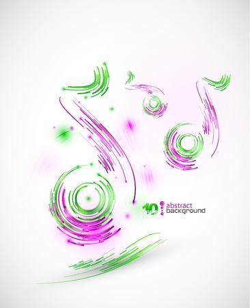 Technology music background