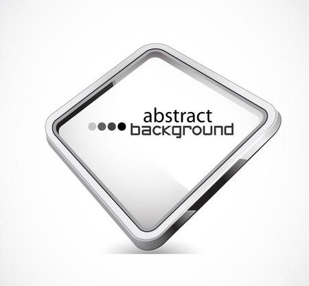 aluminio: Placa de metal con copia espacio