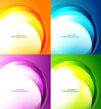 light abstract: Abstract backgrounds Illustration