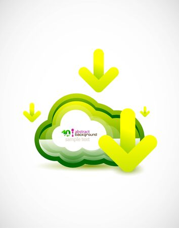 Techno cloud Stock Vector - 11931433