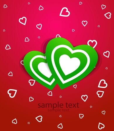 Vector love backgriund Stock Photo - 11931454