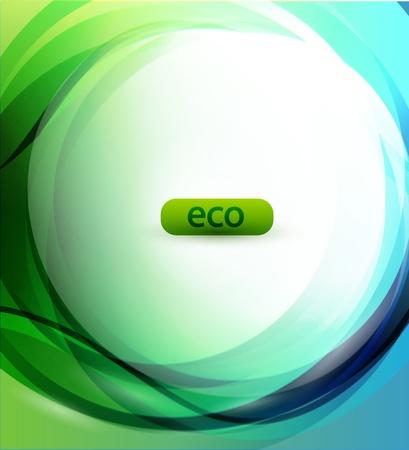 friendly: Eco-friendly sphere background