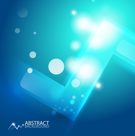 abstract geometric background Stock Vector - 12492049