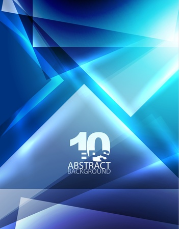 Abstract geometric background Stock Vector - 12491070