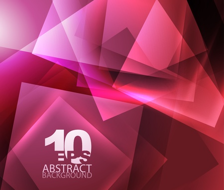 techno background: Abstract geometric background